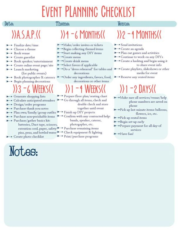 Best 25+ Party planning checklist ideas on Pinterest