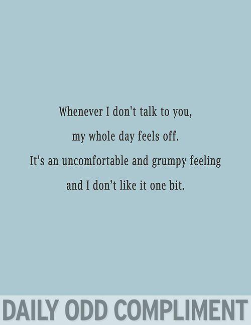 i don't like it one bit!