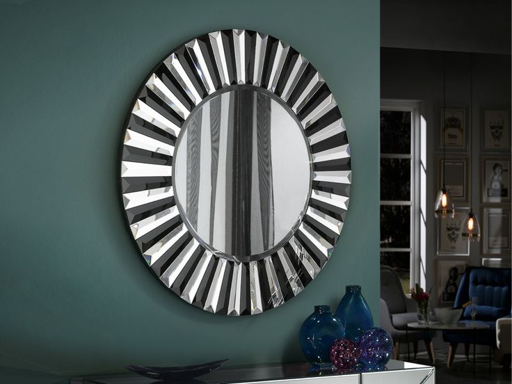 espejos modernos de cristal modelo alberta
