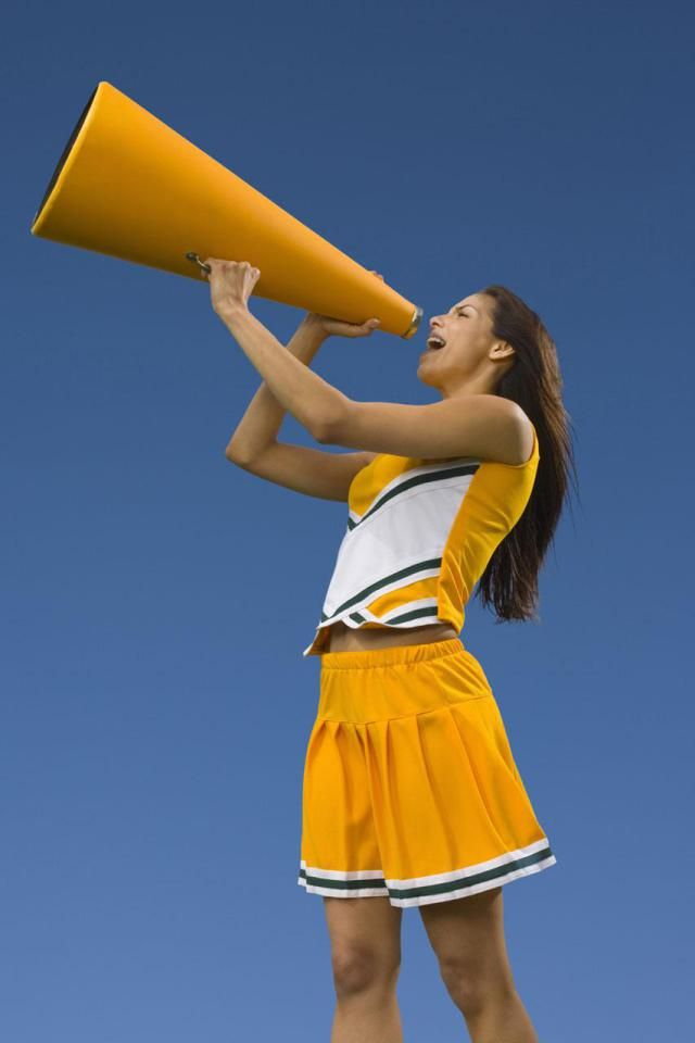 Our Favorite Cheerleading Cheers (and Chants, and Yells)