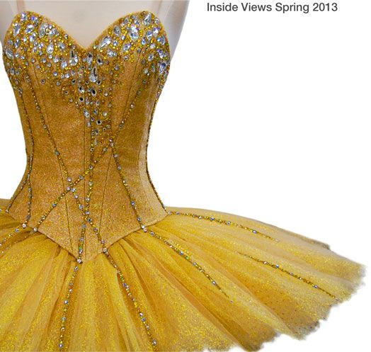 Primadonna tutus. Yellow is not one of my favourite colours but I love this tutu!!
