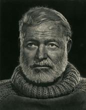 YOUSUF KARSH - Ernest Hemingway