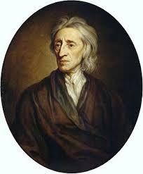 (1632-1704) Locke was een wetenschapper uit Oxford . Volgens Locke hadden alle mensen gelijke rechten die ze al van nature hadden : natuurrechten . Dat de mensen met een vorst of regering in een staat woonden had volgens Locke te maken met een afspraak : Een vorst bestuurd het land . Als deze vorst zijn taken niet goed uitvoert of dingen tegen de zin in van het volk doet , mag het volk in opstand komen .