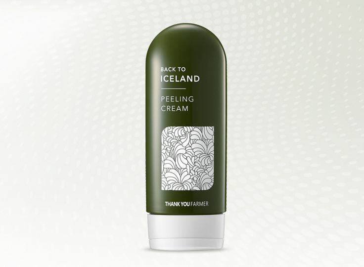 Back To Iceland Peeling Cream (Iceland moss extracts) — THANK YOU FARMER