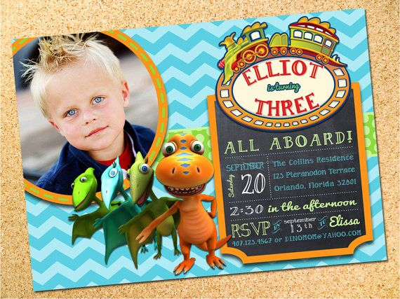 Dinosaur Train Inspired Birthday Party Photo by Owen & Sally Designs