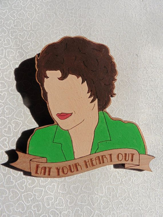 Rizzo from Grease brooch