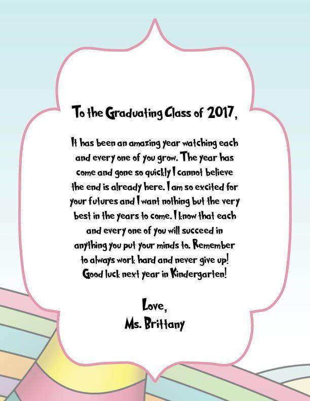 2894c31e76a26c371de207a3deeacdf9 - Kindergarten Graduation Speech