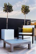 Khilia polyethylene pots on a St Kilda balcony