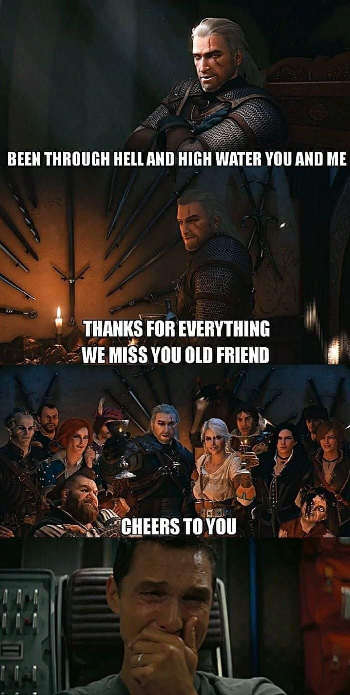 Where Real Men Cried In 2020 The Witcher The Witcher Game