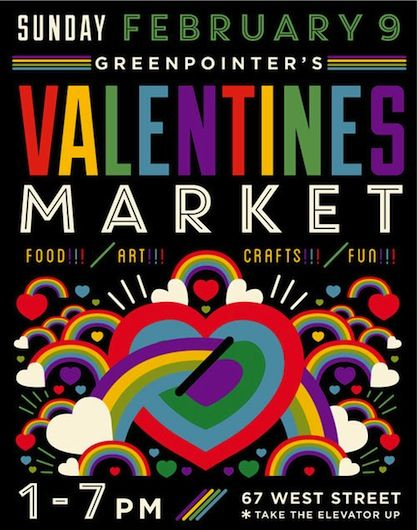 market table valentine's day