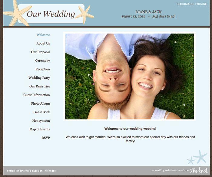 22 best Wedding Website images on Pinterest Wedding website Role