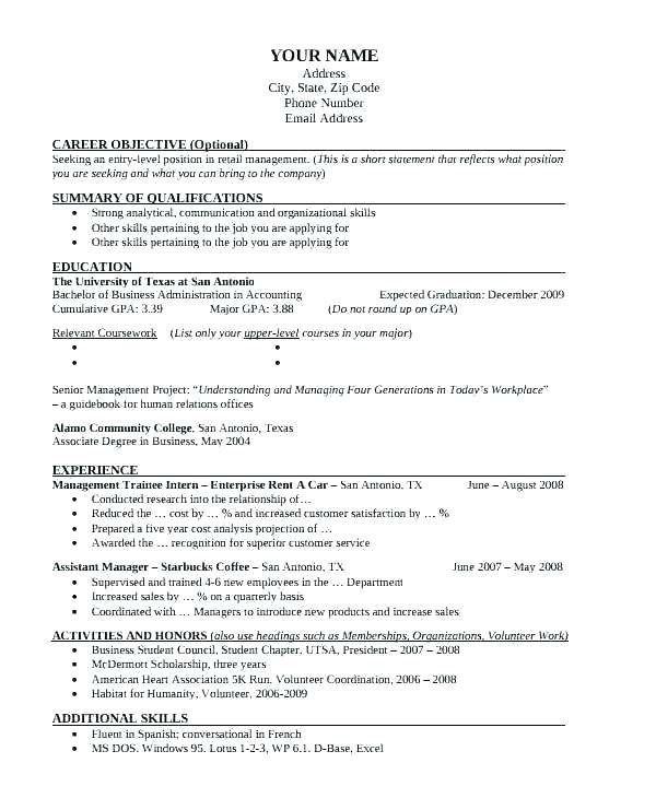 Cool Uta Resume Template Picture Resume Template For Australia
