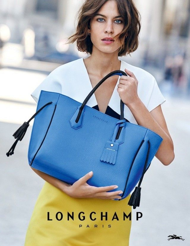 First Look: Alexa Chung For Longchamp S/S 2016 | WhoWhatWear