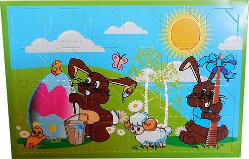 Velikonoční Firemní dárky z čokolády, Velikonoce čokolády s potiskem