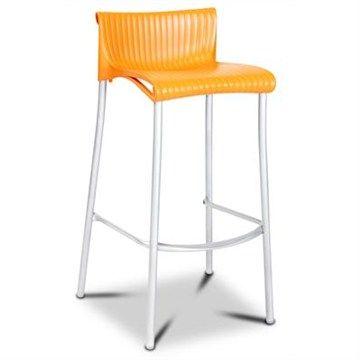 Verona Stool in Orange (set of 2)