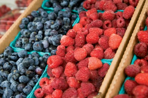 Summer means bright berry recipes.