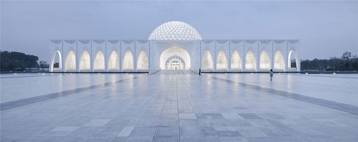 Stunning geometries grace new Muslim cultural center in China - Curbed