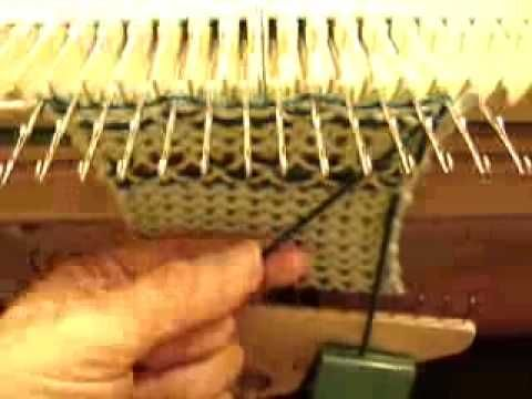 Marge Parker: Knit weave On Manual Knitting Machines