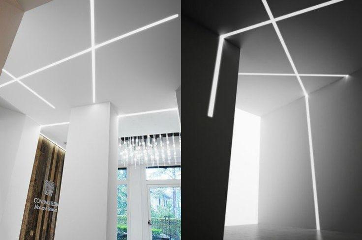 éclairage moderne en rubans LED encastrables design- Nolita eco
