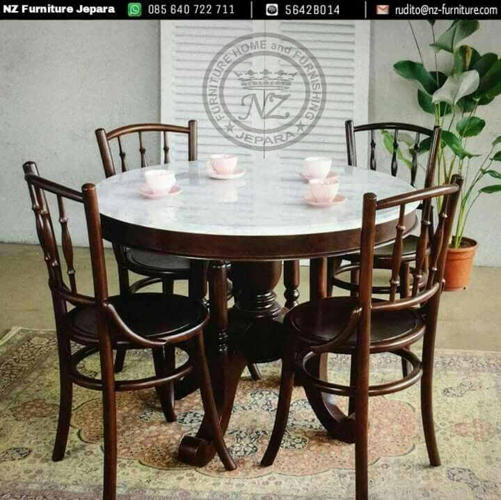 Set Cafe Kopitiam Round Table With Top Table Marble Suitable For Interior Furniture Diningroo Round Marble Dining Table Marble Side Tables Dining Table Marble