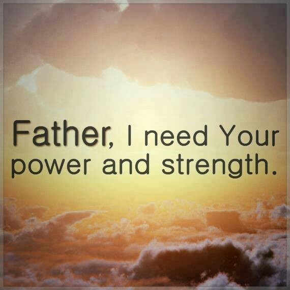 We all needed the lords power and stretch in Jesus name i pray when.