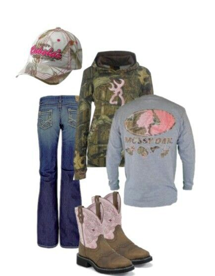 Browning/ Mossy Oak / Camo Outfit