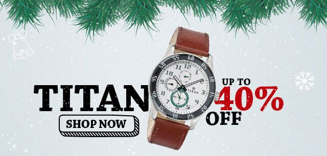 Titan Company brought about a paradigm shift in the Indian watch market when it introduced its futuristic quartz technology, complemented by international styling. Titan Company is the fifth largest integrated own brand watch manufacturer in the world. Titan Offers & Deals - Buy wide range of titan watches, eyewear, accessories for men and women at discounted rates in India. Get latest trends, personalized offers and much more with titan. visit : http://www.titan.co.in/shop-online/watches/