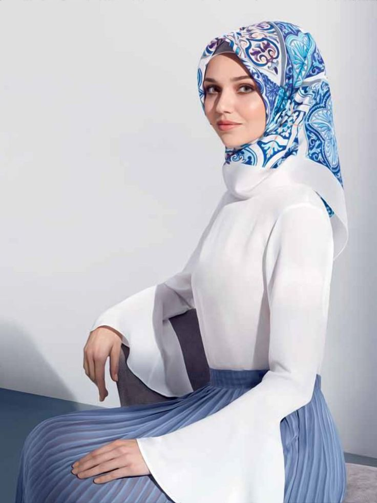 Armine : A Pretty Hijab from Modest Hijab Collection - Beautiful Hijab Styles
