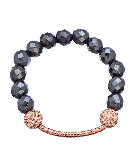 Very Me Rose Gold Bar Bracelet