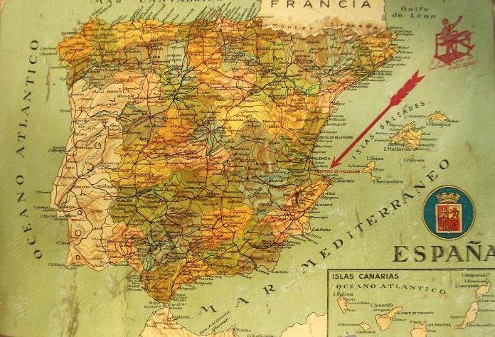 La organización territorial de España en el siglo XX / @gonzalo_prieto   #socialgeo