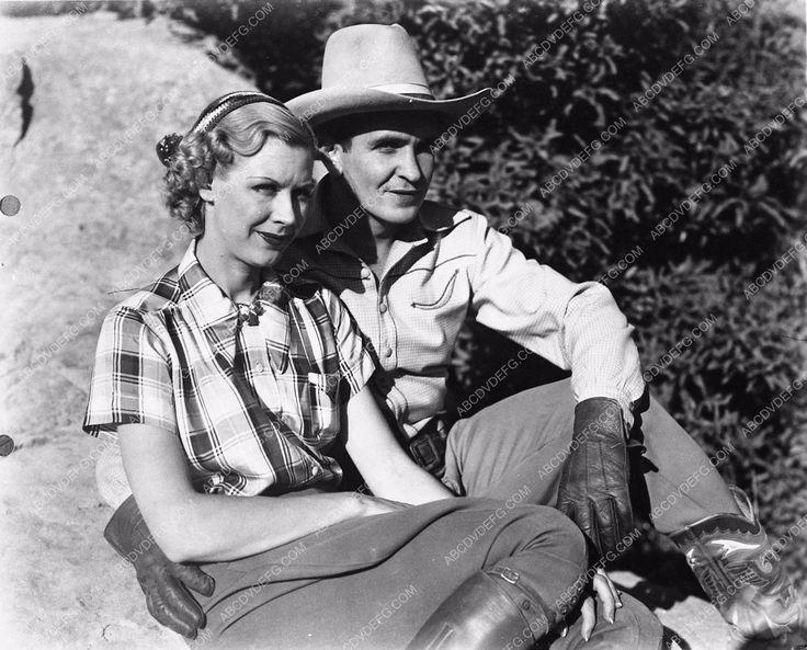 photo Bob Steele Claire Rochelle western film Ridin' the ...