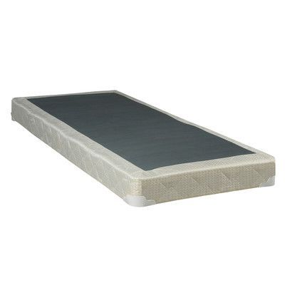 Spinal Solution Hollywood Wood Box Spring Mattress Size Full Profile Low