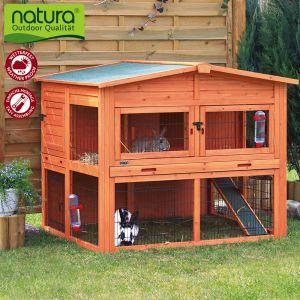 Trixie Natura Kleintierstall XL mit Freigehege