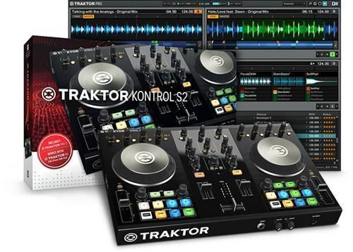 Native Instruments Traktor Kontrol S2 MK2 21 Channel DJ System (Lightining)