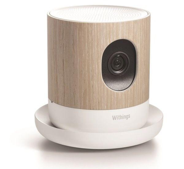 Le français Withings enrichit ce soir sa gamme d'objets connectés en présentant « Home », une caméra de surveillance d'un nouveau genre.