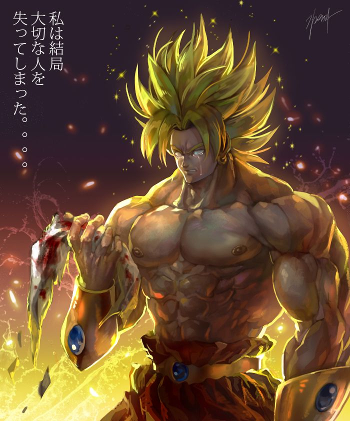 79 best broly images on pinterest broly super saiyan - Dbz fantasy anime ...
