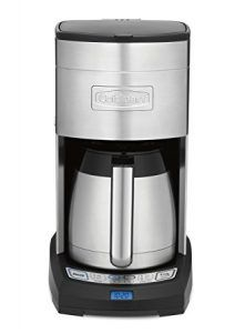 Cheap Cuisinart DCC-3750 Elite. Cuisinart DCC-3750 Elite 10-Cup Thermal Coffeemaker, Stainless Steel.