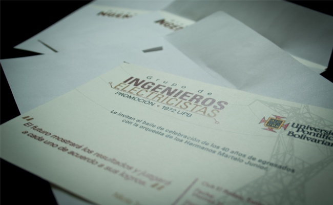 La Quinta Diseño Estrategico - Impresos - Invitaciones UPB