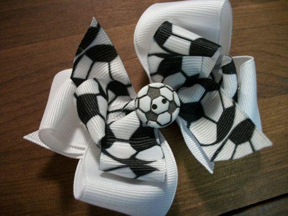 Soccer bow it's cute but probably wouldn't wear it