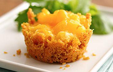 Mini Mac-and-Cheese Cakes Recipe (Gluten Free) Recipe