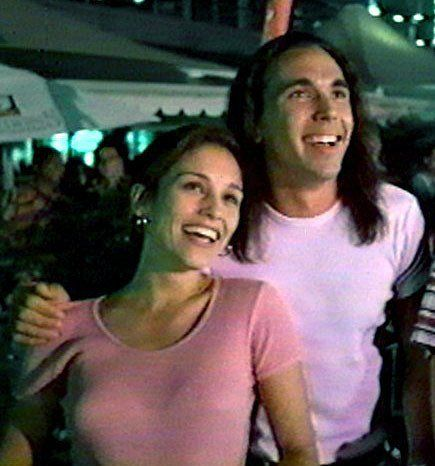 amy jo johnson and Jason david Frank (Kim/Tommy)