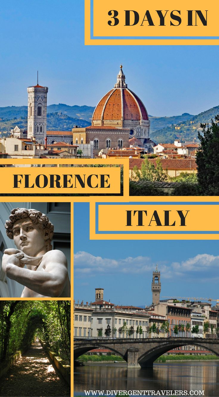 3 days in Florence, Italy. Use our3 days in Florencevacation travel guide for the perfect long weekend itinerary, including the best accommodations, attractions and restaurants. Click to read: 3 Days in Florence – What to do in #Florence #Italy #TravelGuide