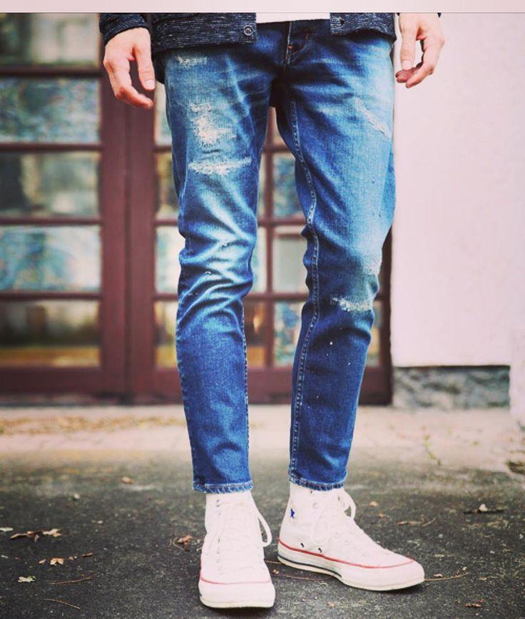 alleycompany.co.jp MR.OLIVE SUPER STRETCH INDIGO DENIM / DAMAGE ANKLE CUT SLIM PANTS  #mrolive #ミスターオリーブ #mood #alleycompany #alleyonlineshop #denim #jeans #pants #デニム #ジーンズ #パンツ #fashion #fashiongram #ファッション #メンズファッション #r_fashion #instafashion #instacool #instalike #instagood #宇都宮 #栃木 #セレクトショップ #お洒落さんと繋がりたい #お洒落な人と繋がりたい #おしゃれさんと繋がりたい