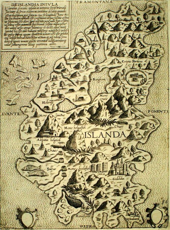 Antique map of Iceland                                                                                                                                                                                 More