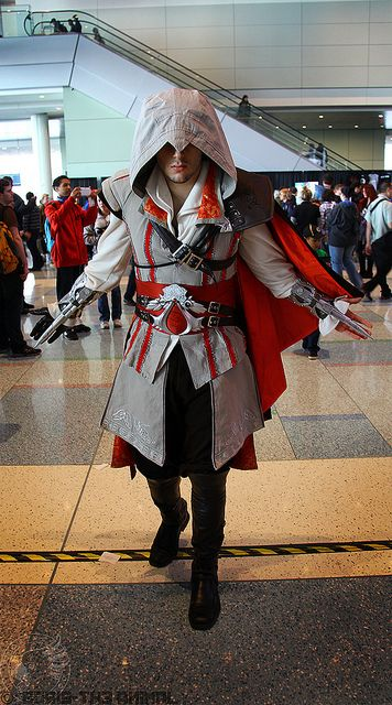 Ezio from Assassin's Creed | PAX East 2013 #cosplay