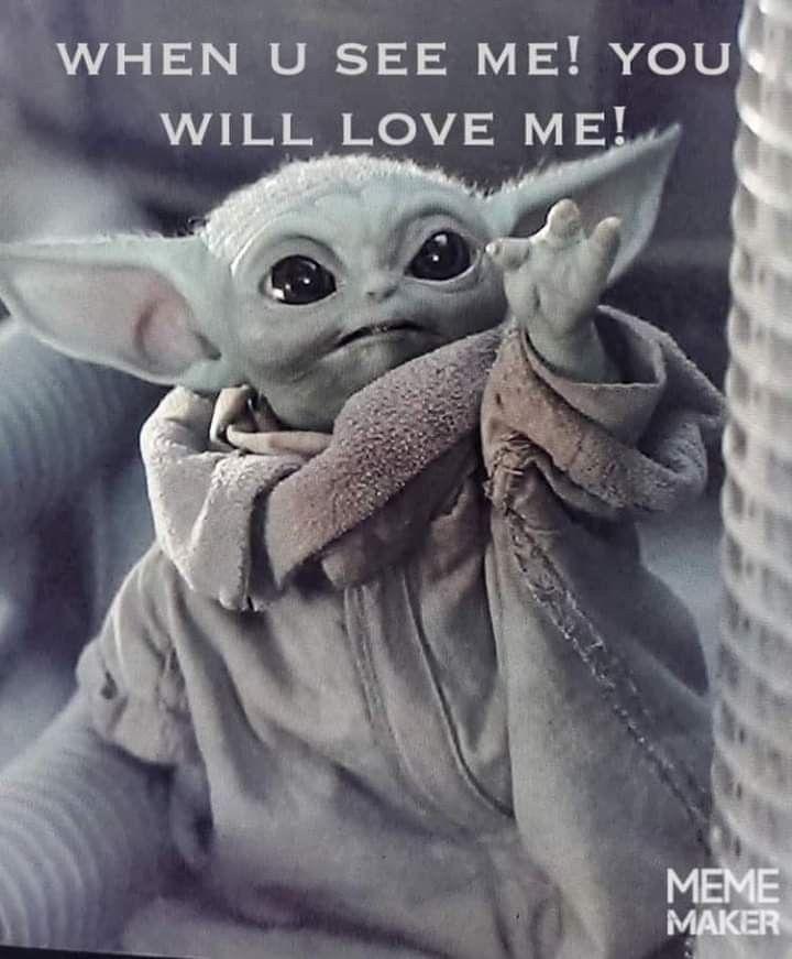 Pin By No On Baby Yoda Funny Star Wars Memes Yoda Images Yoda Wallpaper