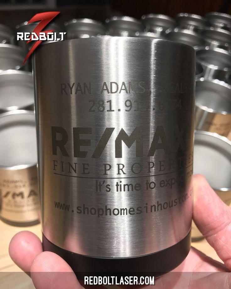 RTIC 12oz Lowball Cooler Cups #redboltlaser #redbolt #laserengraving #RTIC #YETI #tumbler #etsy #marketing #realtor #laserengraving #customtumblers