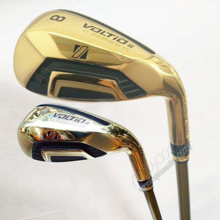 New mens Golf Clubs KATANA VOLTIO III Golf irons set 7-9.P.A.S Club irons with Graphite Golf shaft R flex Free shipping