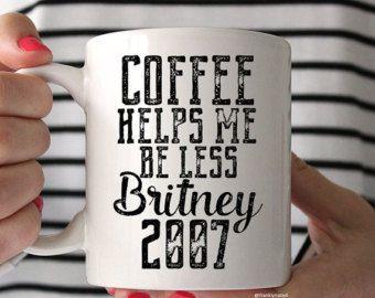 Coffee Mug Ceramic Coffee Mug Tea Quote Mug Tea by FranklyNoted