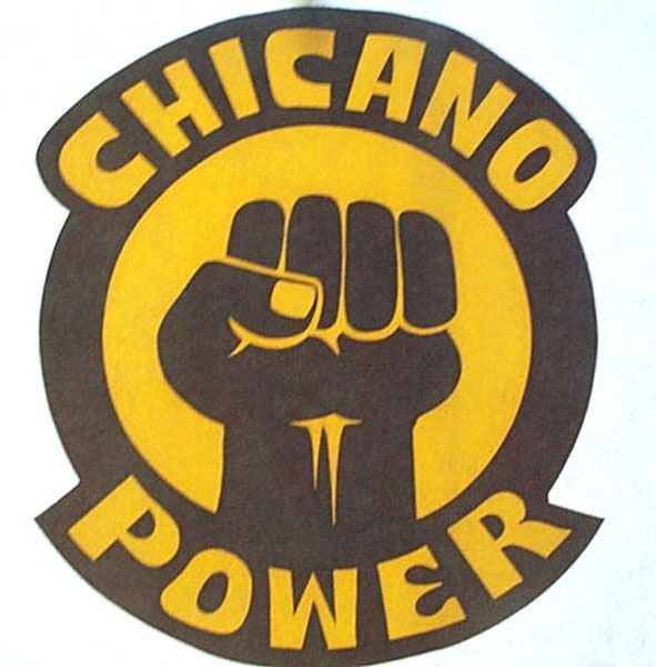 VINTAGE CHICANO POWER T SHIRT IRON ON LATINO MEXICAN RIGHTS CRUSHI HISPANIC